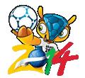 Disegni di Mondiali di calcio 2014 da colorare